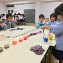 高松幼稚園での教室の様子1
