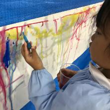 高松幼稚園での教室の様子2